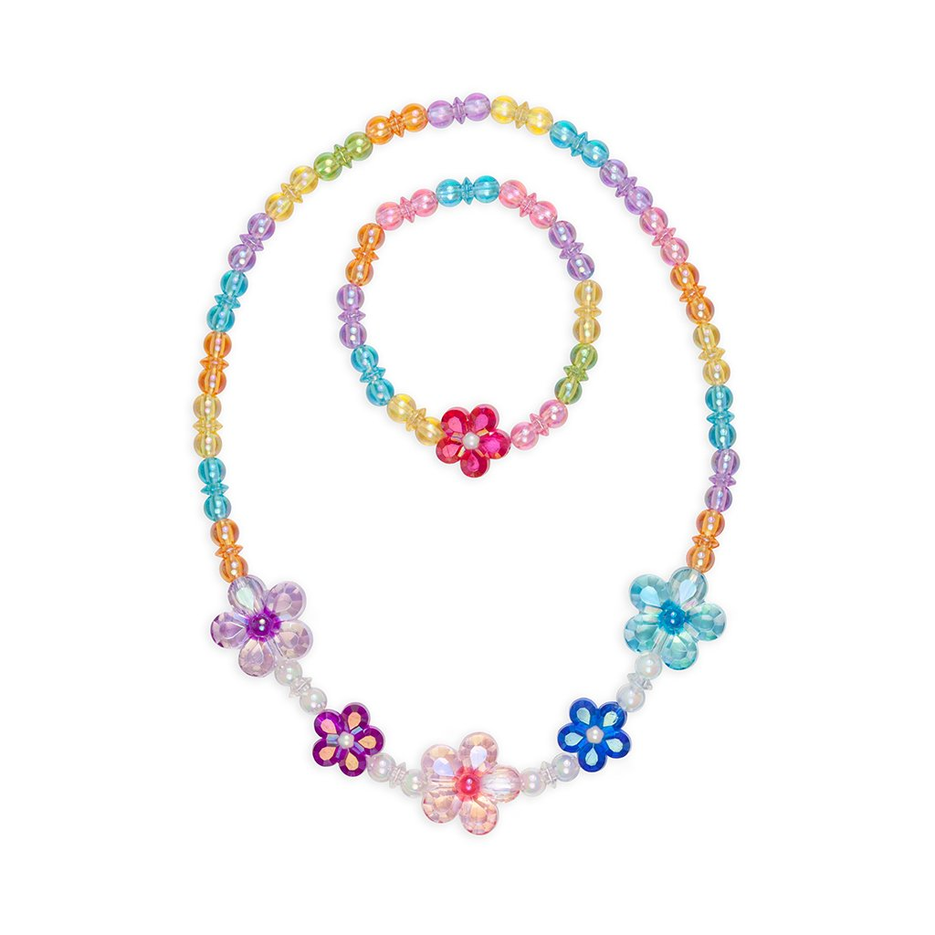 Blooming Beads Necklace & Bracelet Set