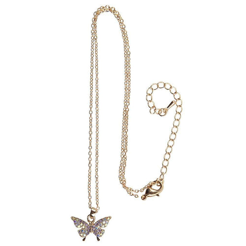 Boutique Butterfly Gem Necklace