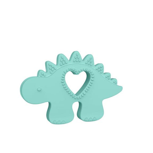 Chomp Silicone Dino Teether