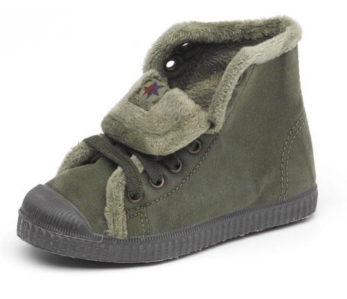 Cienta Khaki High Top