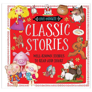 Five Minute Classics Story Book