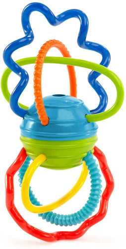 Oball Clickity Twist Teething Toy