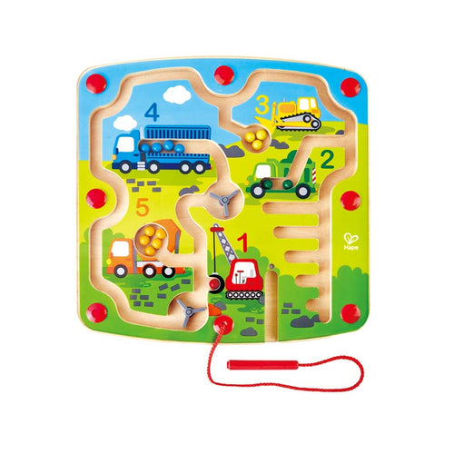 Hape Construction & Number Magnetic Maze