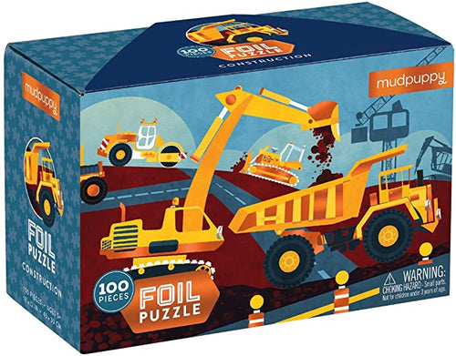 Construction Foil Puzzle 100pc