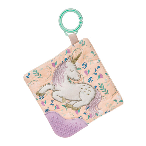 Taggies Crinkle Teether- Baby Unicorn