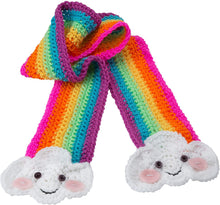 Load image into Gallery viewer, Crochet a Rainbow Scarf