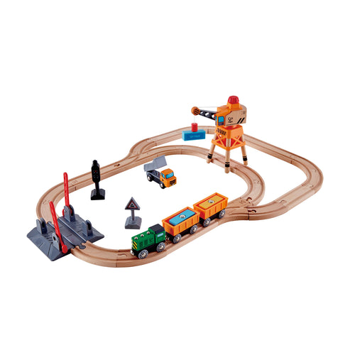 Hape Crossing and Crane Set