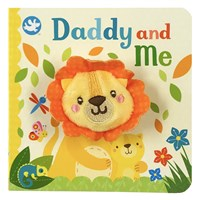 Daddy and Me Finger Puppet Board Book
