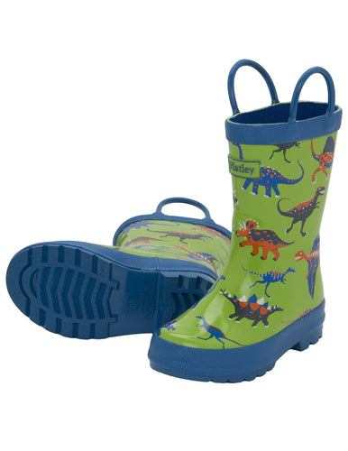 Hatley Dino Rain Boot w Handle- Toddler 5