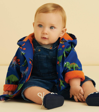 Load image into Gallery viewer, Hatley Friendly Dinos Baby Raincoat