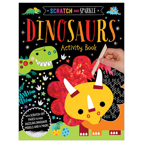 Scratch and Sparkle: Dinosaur Activity Book
