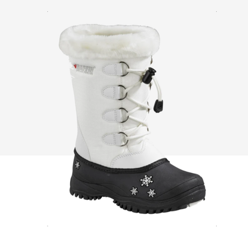 Baffin Emma White Winter Boot - 6T