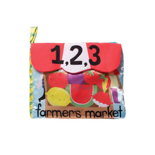 Load image into Gallery viewer, Farmer's Market Cloth Book