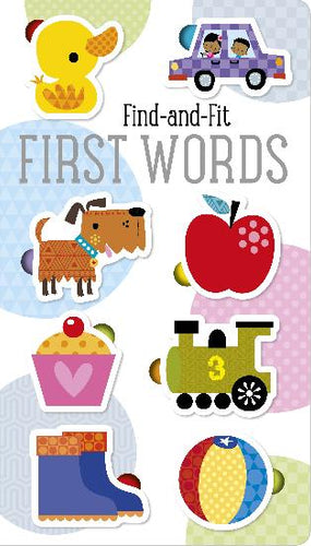 Find-and-Fit First Words Board Book