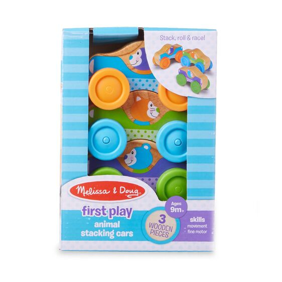 M&D First Play Stacking Cars