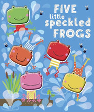 Load image into Gallery viewer, Five Little Speckled Frogs Book