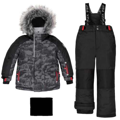 Deux Par Deux Dark Forest 2pc. Snowsuit