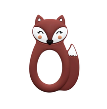 Load image into Gallery viewer, Little Cheeks Fox Teether