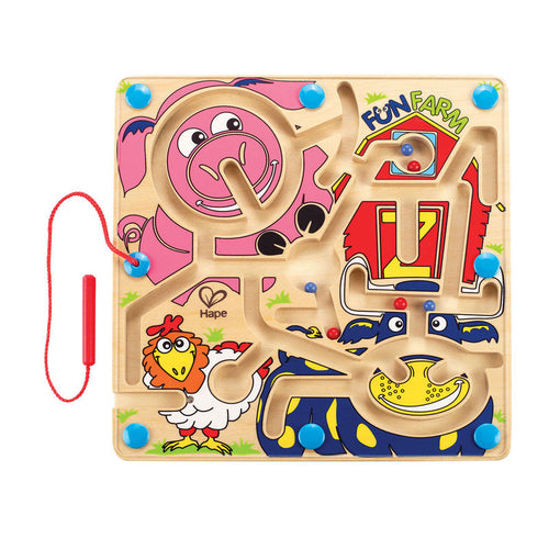 Hape Fun Farm Magnetic Maze