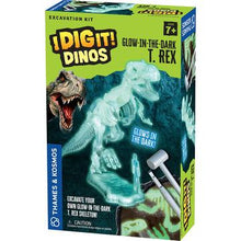 Load image into Gallery viewer, I Dig It! Glow-in-the-Dark T. Rex Excavation Kit