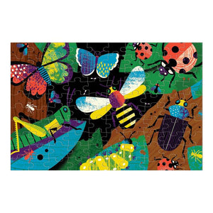 Amazing Insects Glow in the Dark Puzzle 100pc