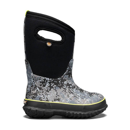 Bogs Classic Handle Winter Boot- Grey Camo
