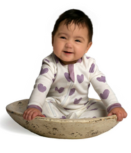 Load image into Gallery viewer, ZippyJamz Stole my Heart Babysuit