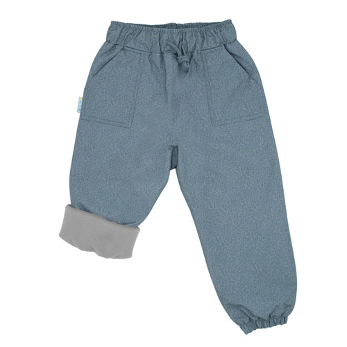 Jan&Jul Fleece Lined Splash Pants - Heather Grey