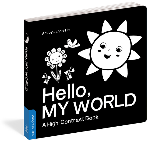 Hello, My World High Contrast Board Book