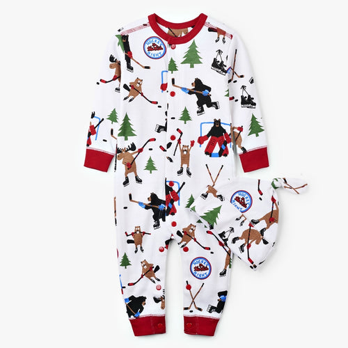 LBH Hockey Night In The Wild Coverall - 3-6m
