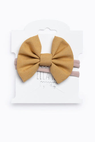 Honey Mini Ella Bow Headband