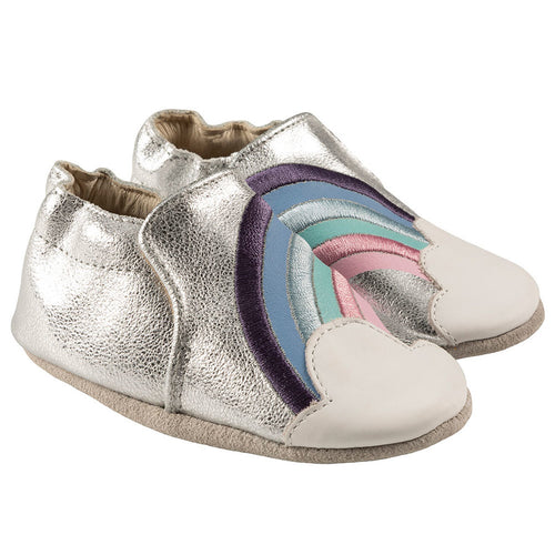 Robeez Soft Soles Hope Silver