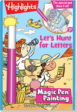 Highlights Magic Pen Painting- Hunt for Letters
