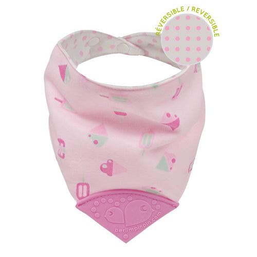 Perlimpinpin Teething Bib- Ice Cream