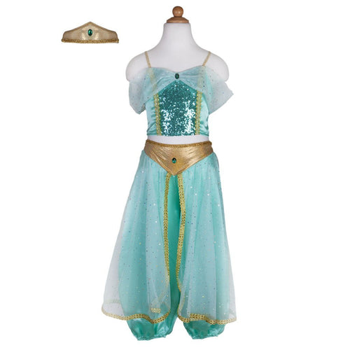 Jasmine Teal Dress Up Outfit