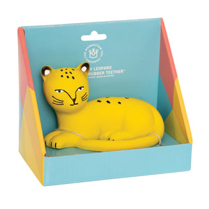 Rubber Teether - Leopard