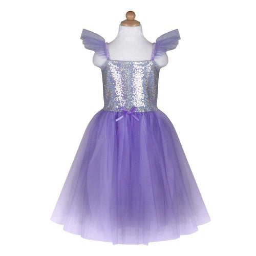 Lilac Sequins Princess Dress