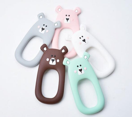 Little Cheeks Bear Teether