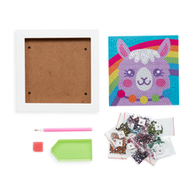 Load image into Gallery viewer, Razzle Dazzle DIY Gem Art Kit- Lovely Llama