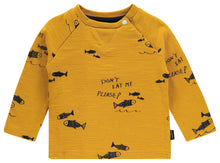 Load image into Gallery viewer, Noppies Yellow Fish LS Tee