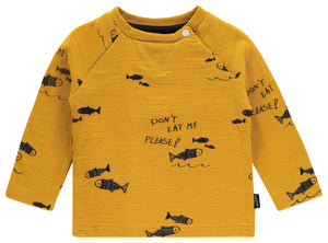 Noppies Yellow Fish LS Tee