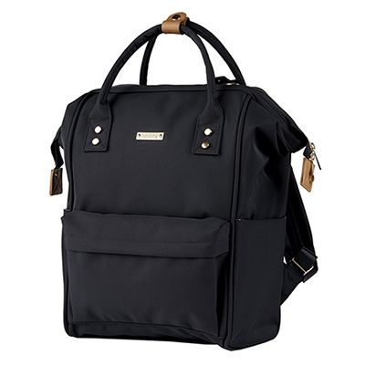 Bababing Mani Backpack Diaper Bag - Black