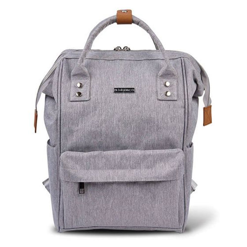 Bababing Mani Backpack Diaper Bag - Grey Marl