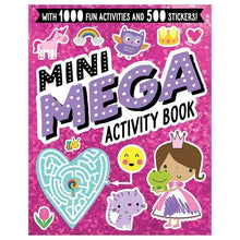 Load image into Gallery viewer, Mini Mega Activity Book Pink