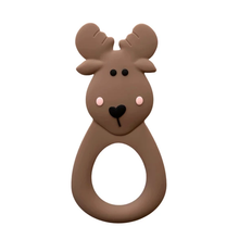 Load image into Gallery viewer, Little Cheeks Moose Teether