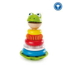 Load image into Gallery viewer, Hape Mr Frog Stacking Rings