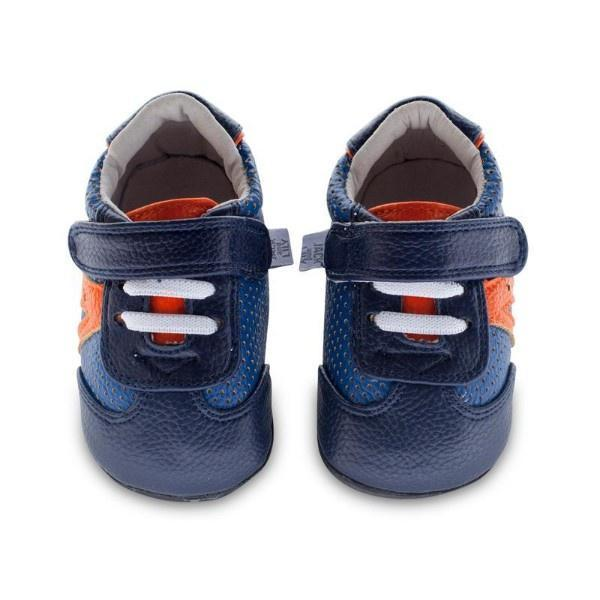 Jack & Lily Navy Trainer 0-6m