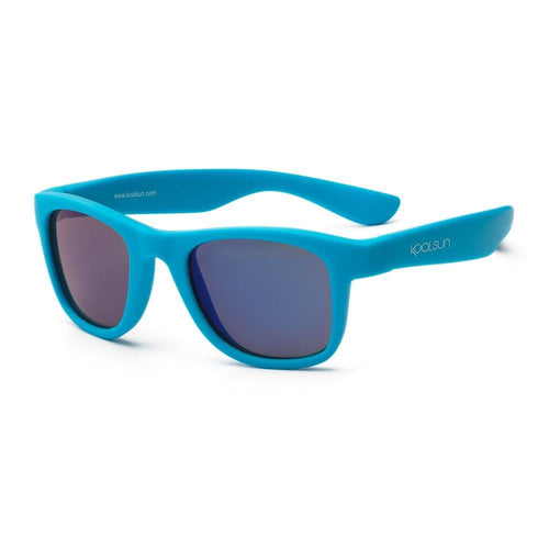 KoolSun Wave Sunglasses Neon Blue