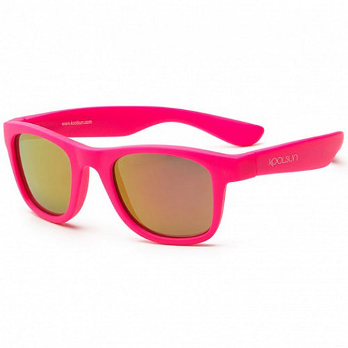 KoolSun Wave Sunglasses Neon Pink