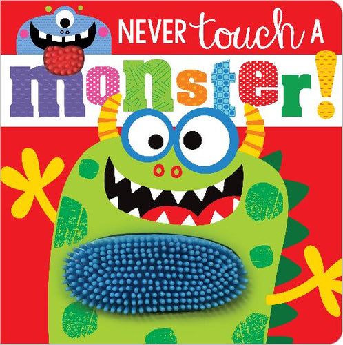 Never Touch A Monster! Book